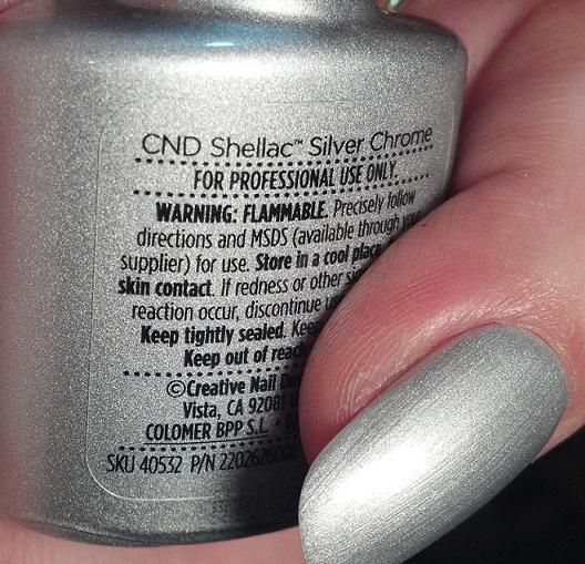 Shellac Silver Chrome